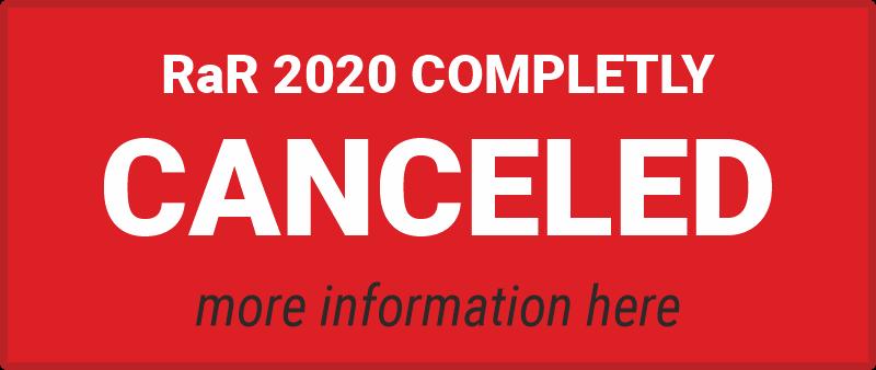 RaR 2020 canceled - more Info here